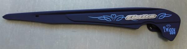Protection chaîne original ELECTRA Tiki gris rose