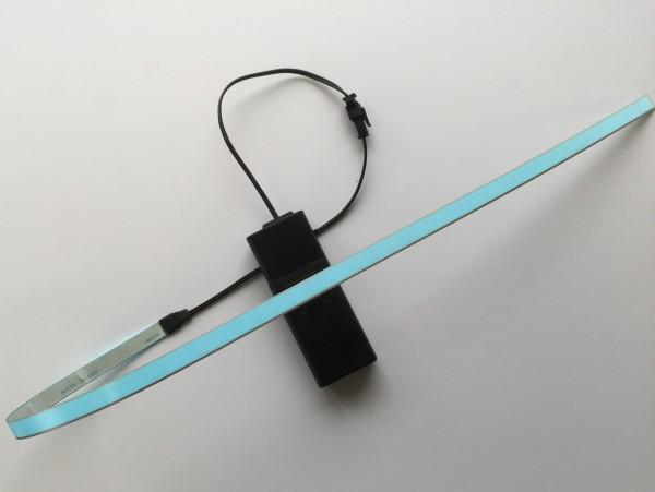 Bande lumineuse éclairage inférieur bleu