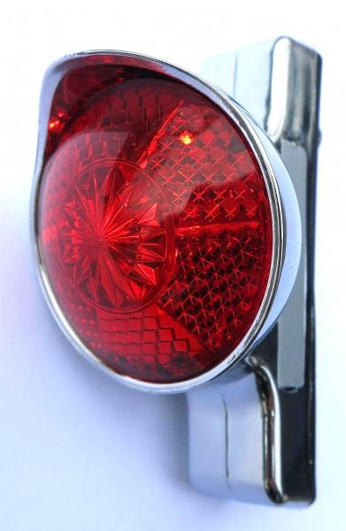 Classic Cycle Feu arrière rétro LED rouge batterie