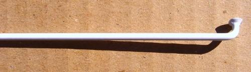 Rayon 2.0 x 255 blanc
