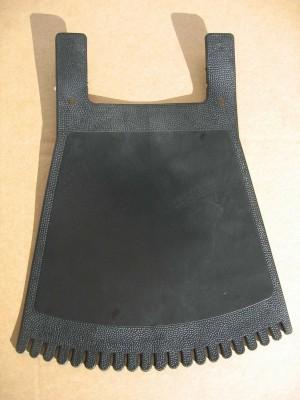 Garde-boue / Mud Flap, noir pur