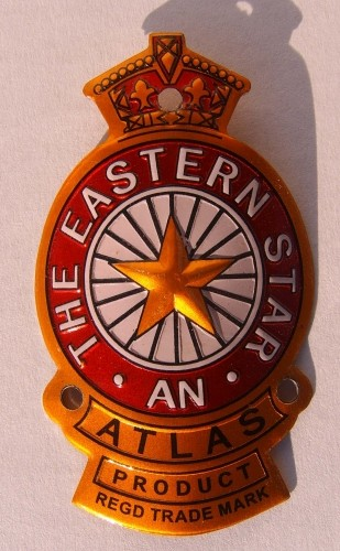 Head Badge Eastern Star