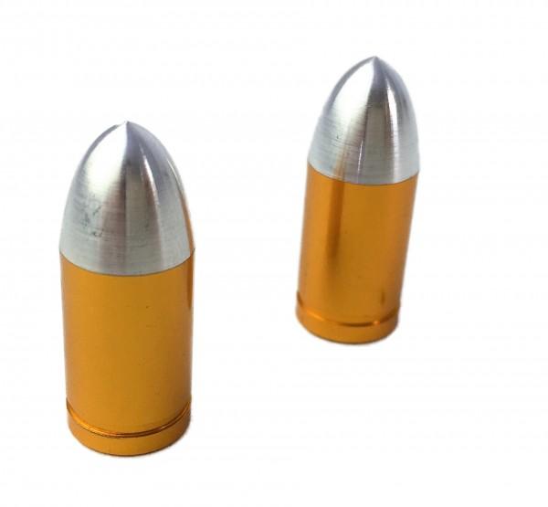 Bouchons de valve balle, couleur laiton