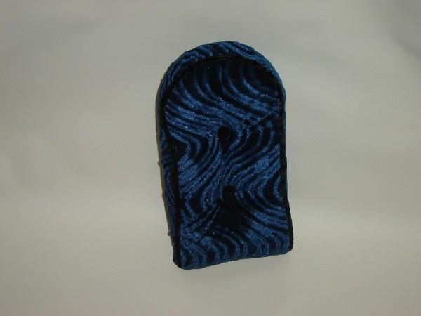 Sissybar Pad, velours, bleu