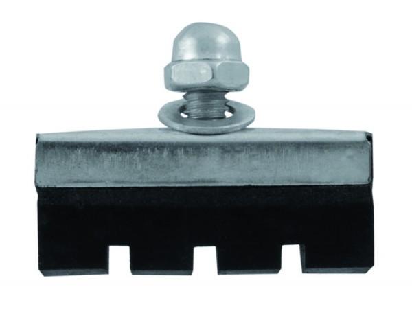 Patins /plaquettes de frein avec écrou borgne 35mm