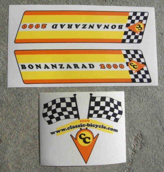 Autocollant ensemble original Baonazarad 2000