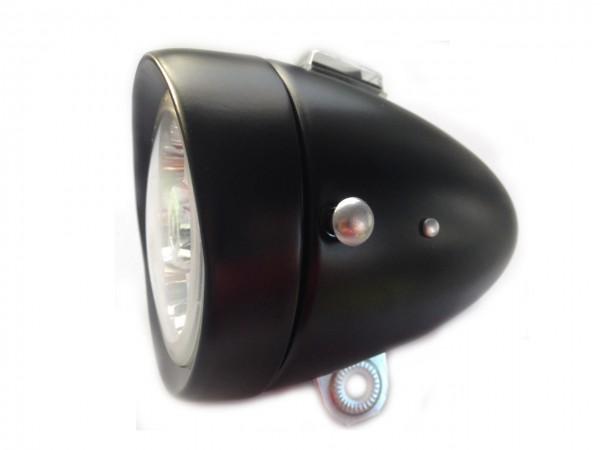 6 LED Batterie Feu avant, 80mm, noir mat