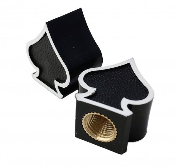 Bouchons de valve pique, noir