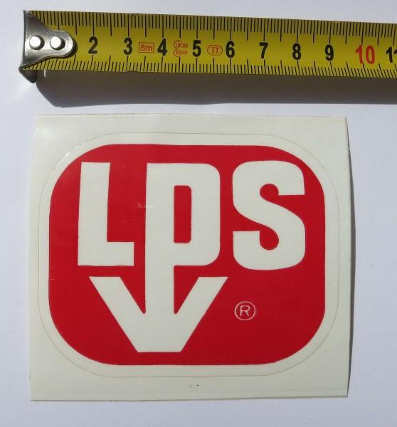 Autocollant original LPS du début des années 70