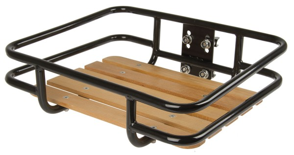 Porte-bagage universel avec rail Heavy Duty en bois de hêtre