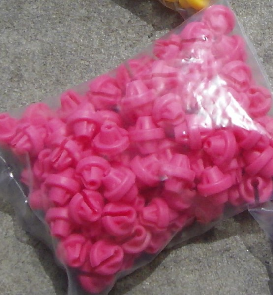 Rayon - perles roses Snappers Spokey