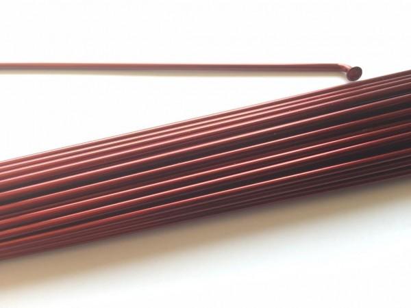 Rayon 2.0 x 244 bordeaux métallisé